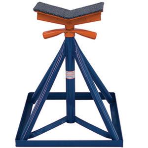 cavaletes de apoio para barcos / ajustáveis / para quilhas / galvanizados