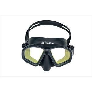 máscara de mergulho de duas lentes