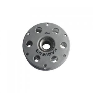 moitão de alta resistência / com rolamento de esferas / simples / com fixação têxtil