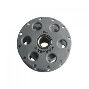 moitão de alta resistência / com rolamento de rolos / simples / com fixação têxtil