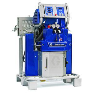máquina de projeção multicomponentes