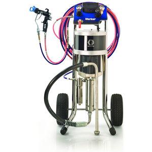 máquina de pulverização de tinta móvel / para estaleiro naval