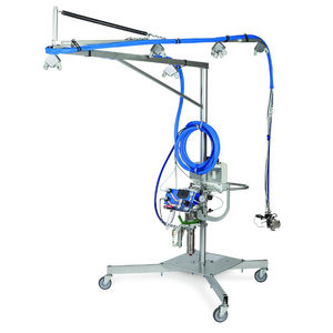 máquina de projeção de resina / de mistura externa / para estaleiro naval