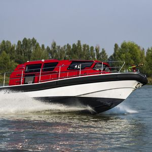barco profissional barco de trabalho / barco salva-vidas / barco de transporte de tropas / barco para transporte de tripulação