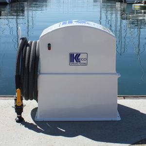 sistema de sucção de esgoto para barco