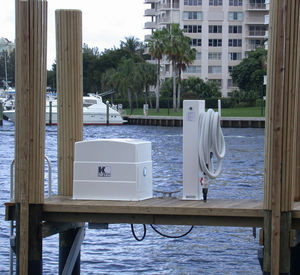 sistema de sucção de esgoto para marina