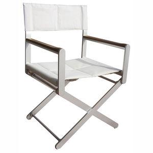 cadeira estilo diretor de cinema para barco