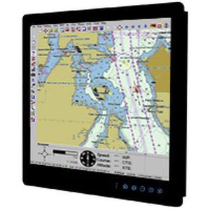 painel PC para navio / de embutir / resistente às vibrações / sem ventilação