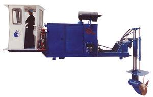 sistema de propulsão para barcaça