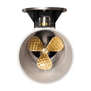 propulsor de proa / para iate / elétrico / com baixo nível de ruído