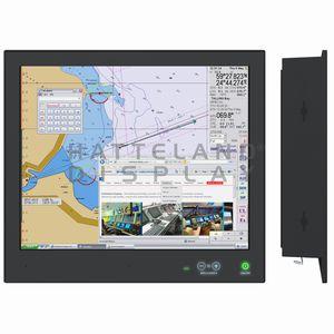 painel PC para navio / de embutir / compacto