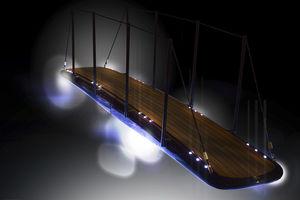 luminária para passarela