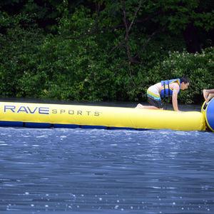 equipamento de diversão aquática trave de equilíbrio / inflável