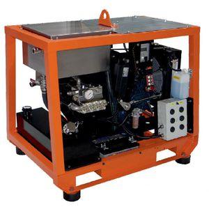 lavadora de alta pressão para estaleiro naval / para navio / para montagem em suporte / a diesel