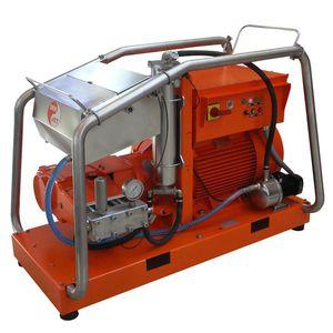lavadora de alta pressão para estaleiro naval / para montagem em suporte / elétrica