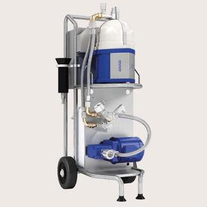 sistema de tratamento de óleo / de combustíveis / para navio / com filtro