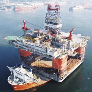 navio de apoio offshore para a construção
