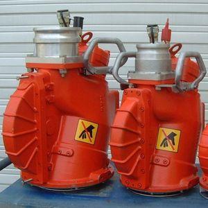 sistema de recolhimento de hidrocarbonetos (bomba de transferência) para navio