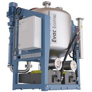 tanque de águas residuais / de vácuo / para navio / autoportante