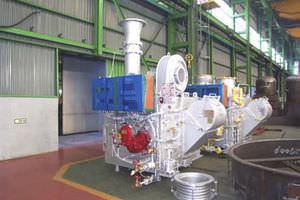 incinerador para navios de resíduos