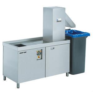 sistema de tratamento de resíduos alimentares