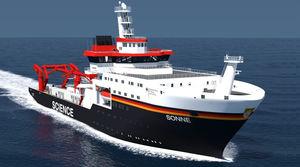 navio de pesquisa oceanográfica