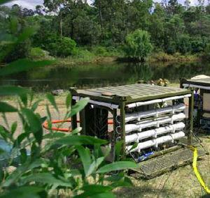purificador de água para barco