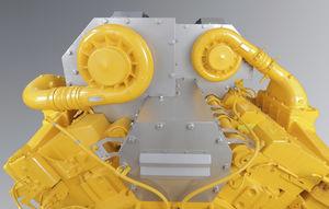 isolamento rígido para motor / térmico / SOLAS