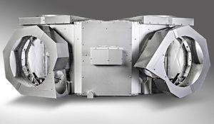 isolamento rígido para tubo de escape de navio / acústico / térmico