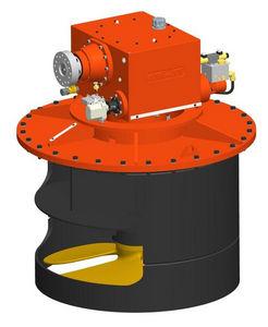 propulsor de proa / para navio / hidráulico