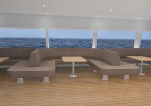 banco para navio de passageiros