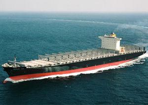 navio de carga porta-contêineres