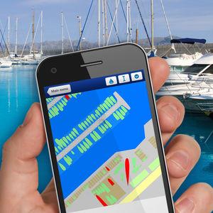 software de gestão / para marina / para smartphone