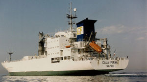 navio de carga frigorífico