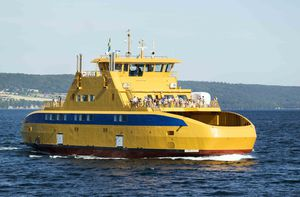 ferry de passageiros polar