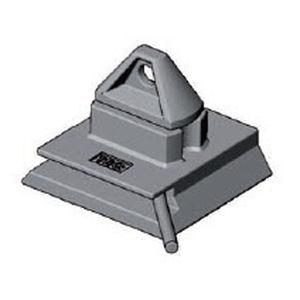 twist lock tipo rabo de andorinha para travamento de contêineres