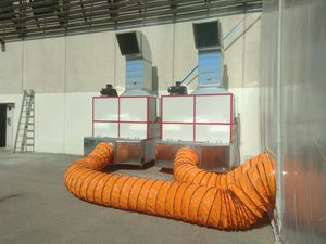 extrator de pó móvel