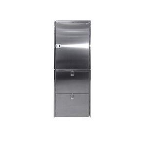 geladeira com freezer para barco / para iate / de embutir / com compressor
