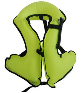 colete de mergulho inflável