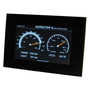 display para barco / para navio / multifuncional / com tela sensível ao toque