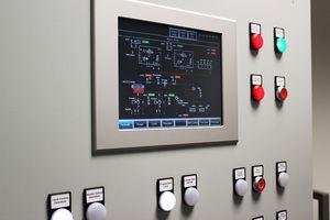 painel de comando para navio / para iate / para motor / para sistema de alarme