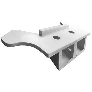 suporte de motor para barco / em alumínio