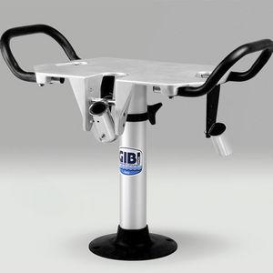 cadeira de comando para barco / com braços / em alumínio