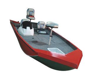 bass boat com motor de popa / de pesca esportiva / em alumínio / máx. 4 pessoas