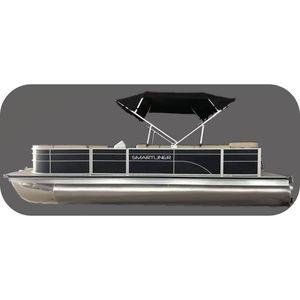 pontoon boat com motor de popa / em alumínio / máx. 9 pessoas