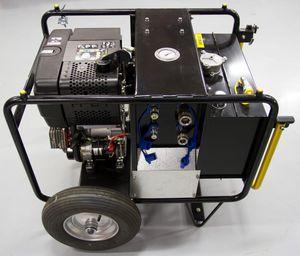 unidade hidráulica para barco de combate à poluição