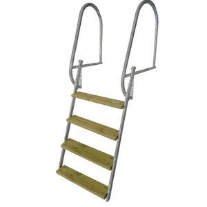 escada para píer
