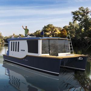 lancha Cabin Cruiser fluvial