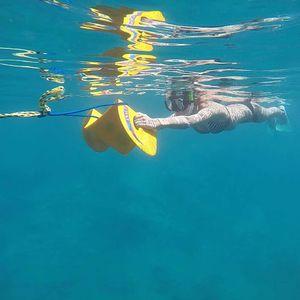 asas para mergulho rebocável