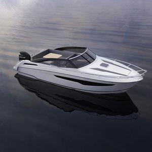 lancha Cabin Cruiser com motor de popa / open / máx. 10 pessoas / 2 camas